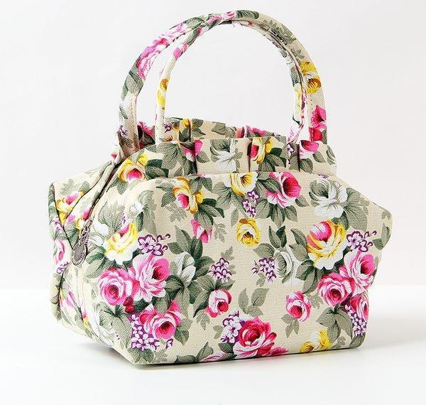 Put down the lunch sun umbrella factory direct sale new canvas leisure Womens bag handbag womens bag can buy vegetable bag