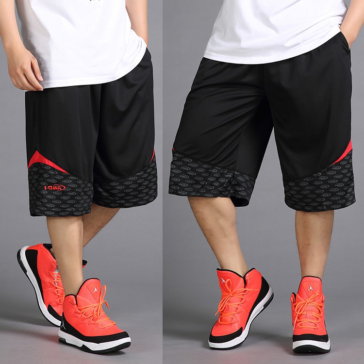 Summer fattening plus size 5-point pants fat mans baggy oversize basketball 7-point underpants