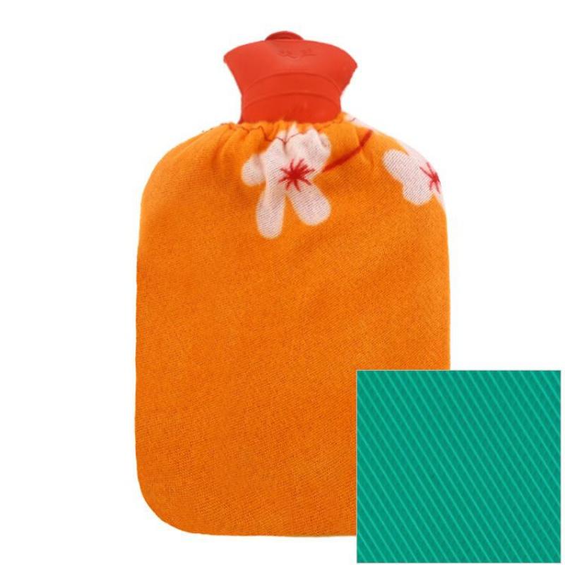 全网比价】特大号橡胶热水袋注水加厚暖宝宝暖手宝冲注水暖手袋