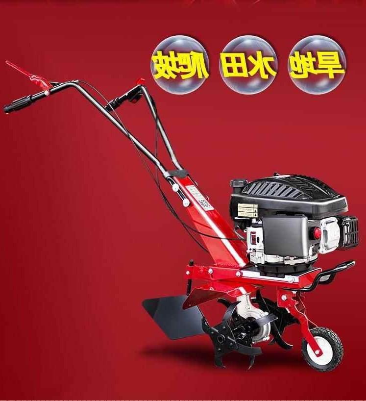 新品轉向開荒微耕機柴油機懶人新式驅動開溝自動旋耕機挖溝機汽