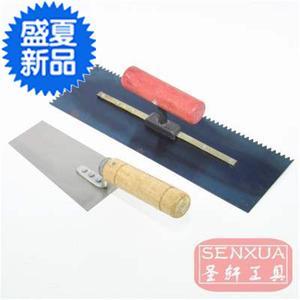 工具齿形锯L齿抹子锯齿泥板镘刀贴瓷砖刀铺瓷砖砌砖刀抹泥刀刮刀