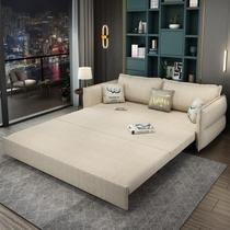 梳化床网红带收纳小户型双人伸缩坐卧床北欧沙发床两用可折叠