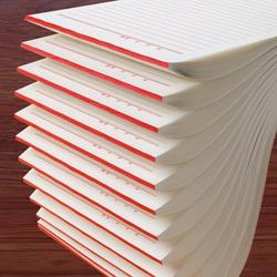 信纸稿纸学生用信笺信签本大学生作文纸英语数学作业科横格文稿横线报告材料原书写信申论专用400格稿纸数学