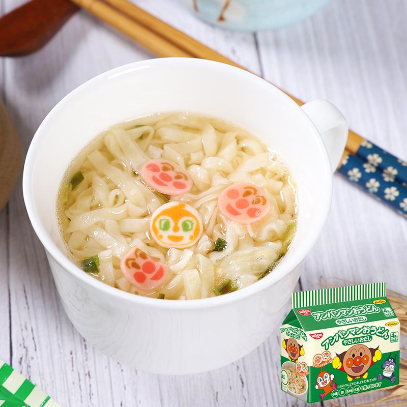 日本进口nissin面包超人海鲜味泡面11月13日最新优惠