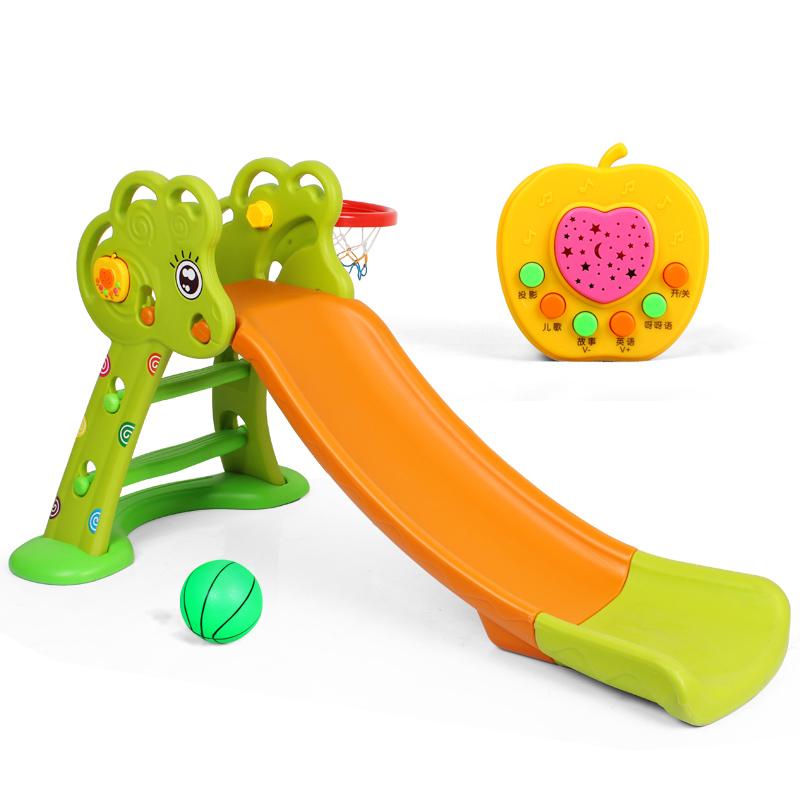 小型兒童滑梯 玩具寶寶滑滑梯室內家用幼兒園樂園家庭遊樂場