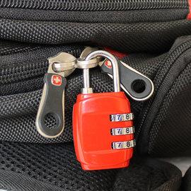 小密碼鎖箱包鎖 健身房掛鎖宿舍柜子門鎖行李鎖非TSA海關鎖拉桿箱圖片