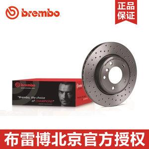 brembo布雷博09-5509-1X 适配新飞度GK5 锋范 凌派 打孔前刹车盘
