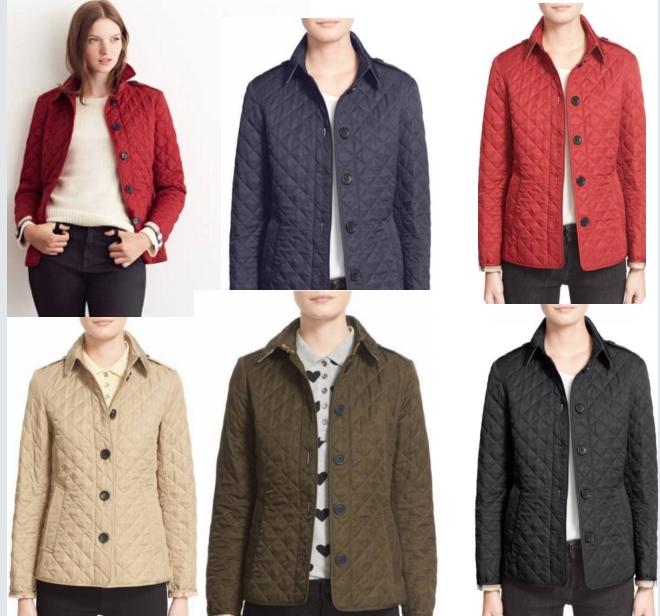 美国代购小店包邮BURBERRY女装新款棉衣翻领保暖棉服单排扣冬装