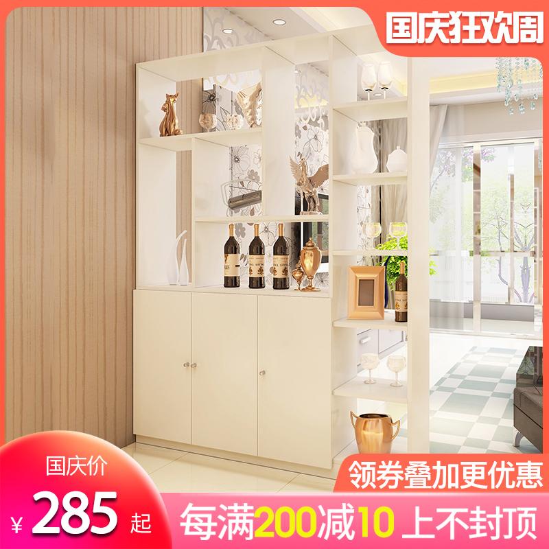 客厅玄关柜鞋柜隔断柜子门厅柜现代简约酒柜隔断屏风柜储物展示柜