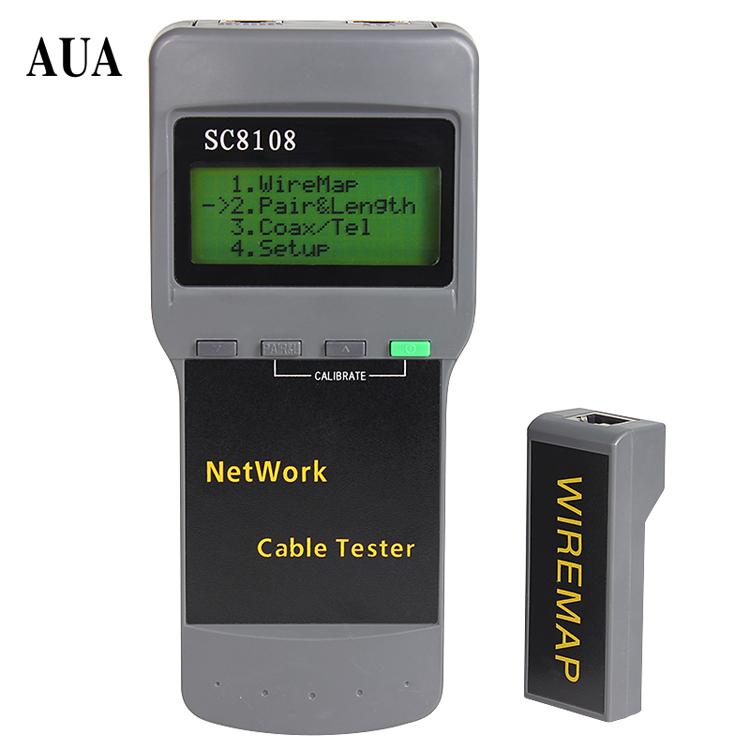 Простая установка SC8108 сеть линия кабель длина перерыв точка тест инструмент мера нить