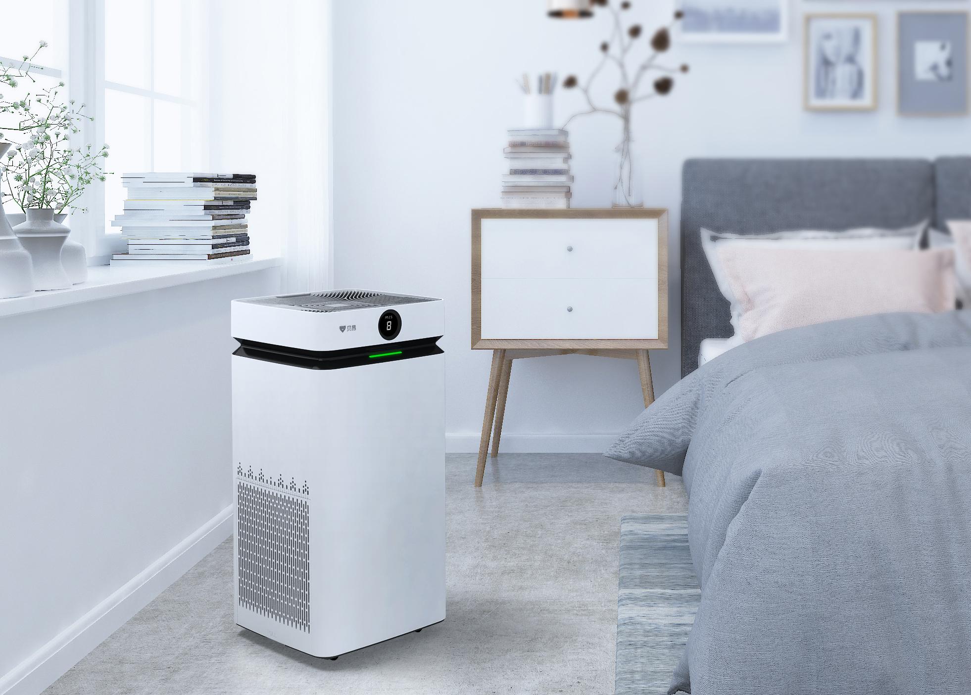 [上海兆存物资空气净化,氧吧]贝昂X7无耗材空气净化器月销量0件仅售4999元
