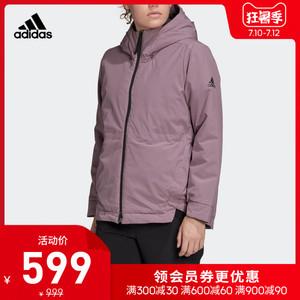 阿迪达斯官网 adidas 女装冬季户外运动棉服夹克外套FI7146