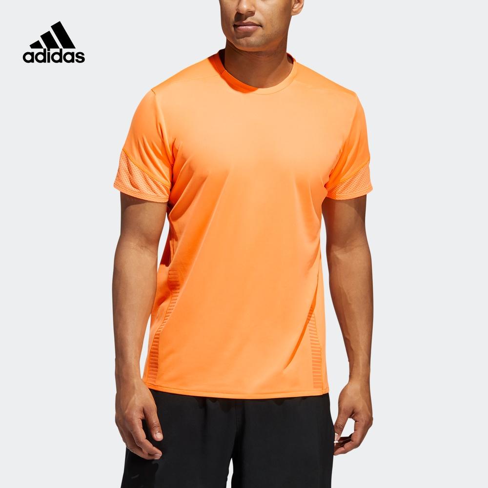 满299.00元可用60元优惠券阿迪达斯官网男装跑步套头短袖t恤