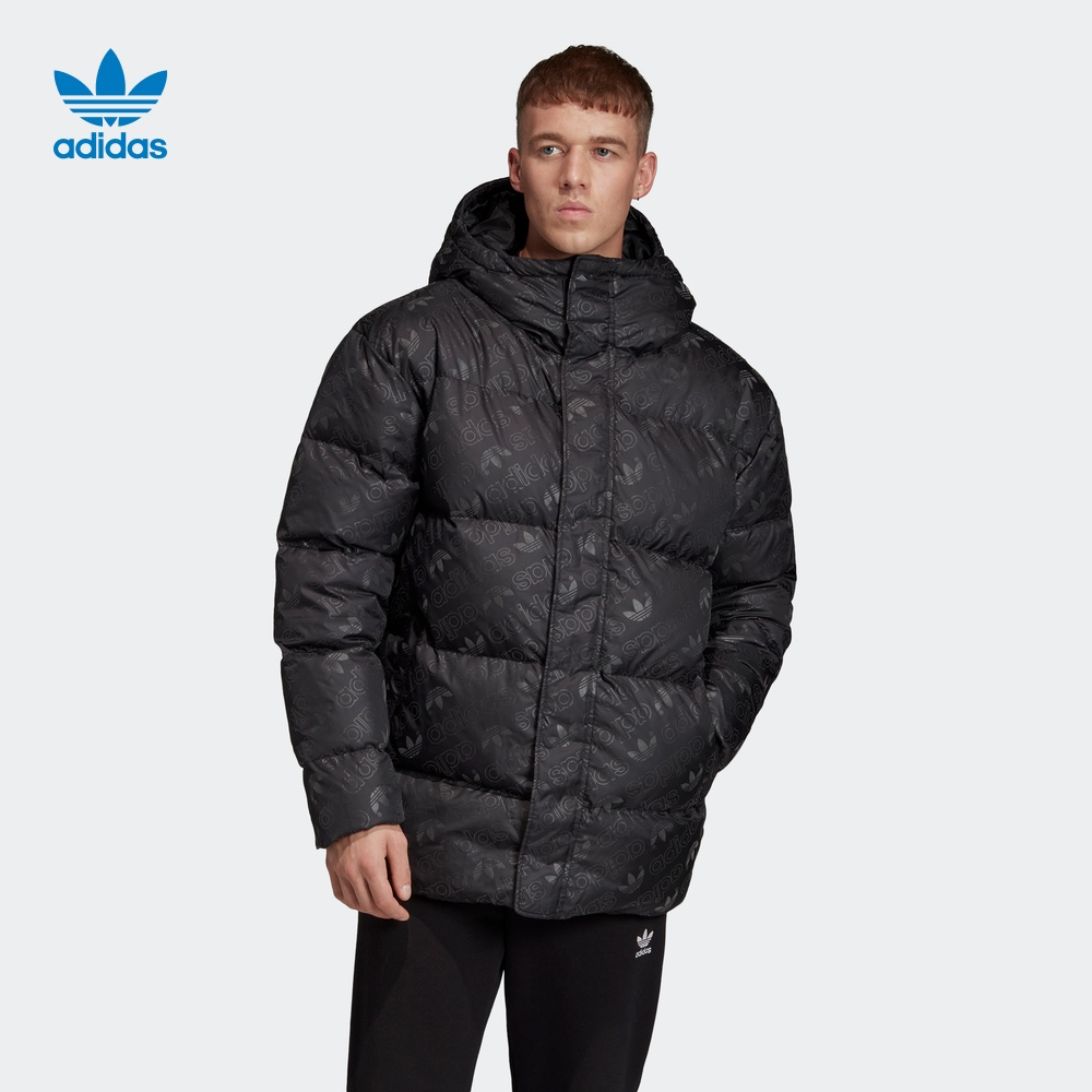 Adidas official website Adidas clover men's winter sports down jacket ed5841