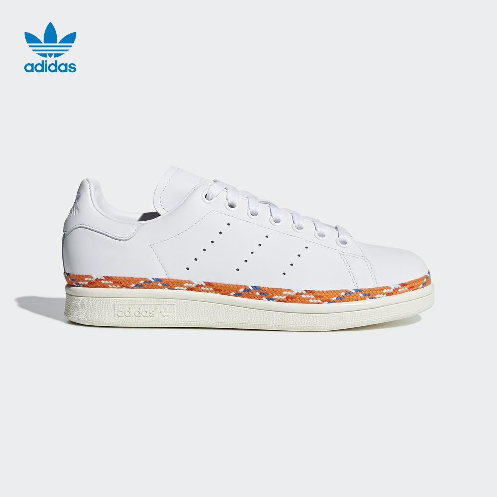 阿迪达斯adidas官方 三叶草 Stan Smith New Bold W 女子 经典鞋