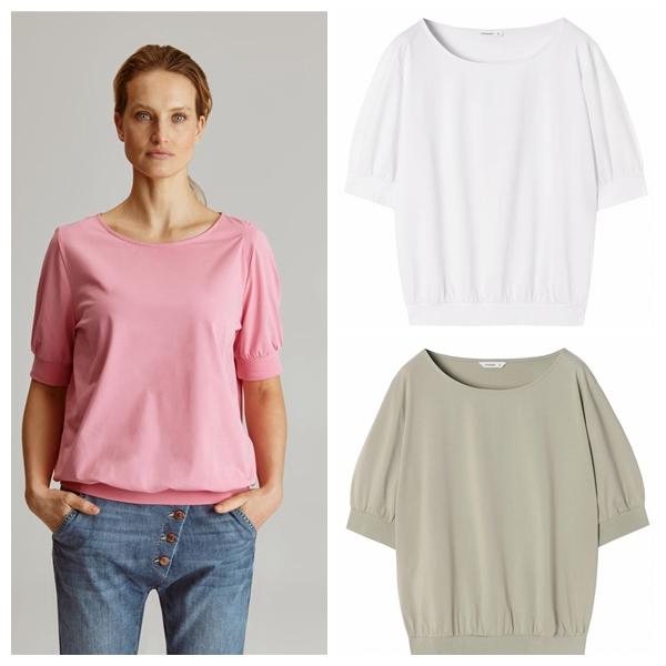 8H1夏季新款 成人女装精梳棉圆领短袖纯色T恤衫大爱强推款