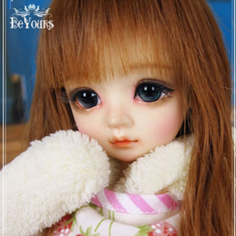 By6 points BB coconut girl beyours joint movable real doll original genuine BJD doll