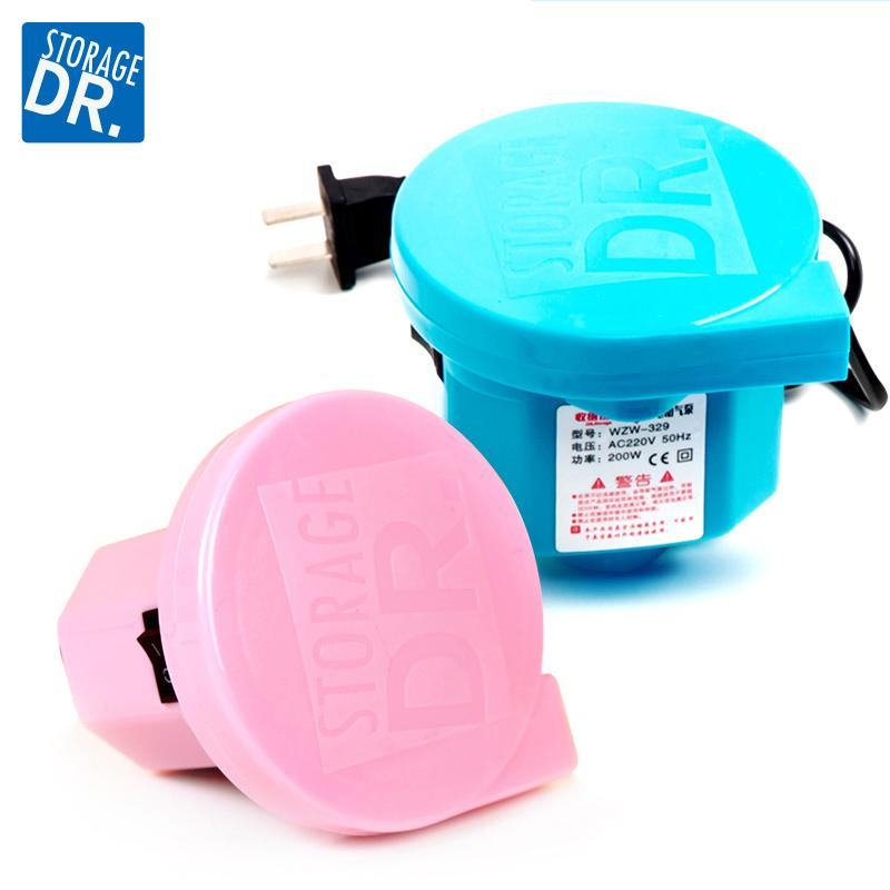 DR.STORAGE вакуум сжатие мешок специальный электрический шаг привлечь воздушный насос чистый черный мешок привлечь газ электрический насос