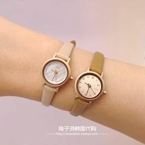 韩国专柜代购简约气质百搭圆盘钢带女手表日韩时尚休闲腕表LLOYD