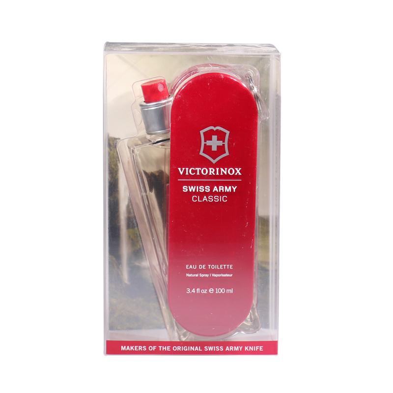 SWISS unlimited 瑞士军刀 维氏银杉琥珀 75ml/100ml男士淡香水