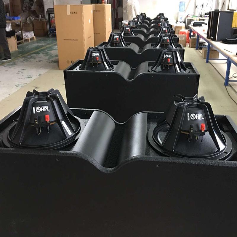 厂家直销定做阿酷斯专业舞台演TW-10寸线阵音响音箱双10寸2分音箱