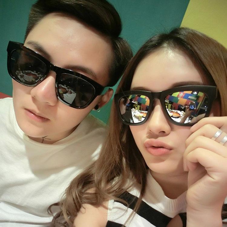 彩色水银反光墨镜男女时尚眼镜厂家直销 3元以下太阳镜批发