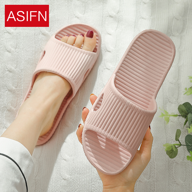 夏季家居家軟底防滑底情侶室內外浴室拖鞋女潮男家用室外涼拖鞋