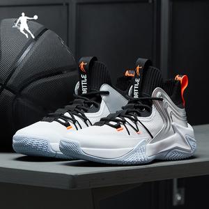 乔丹篮球鞋男鞋破影2020夏季新款透气运动鞋高帮减震实战球鞋男