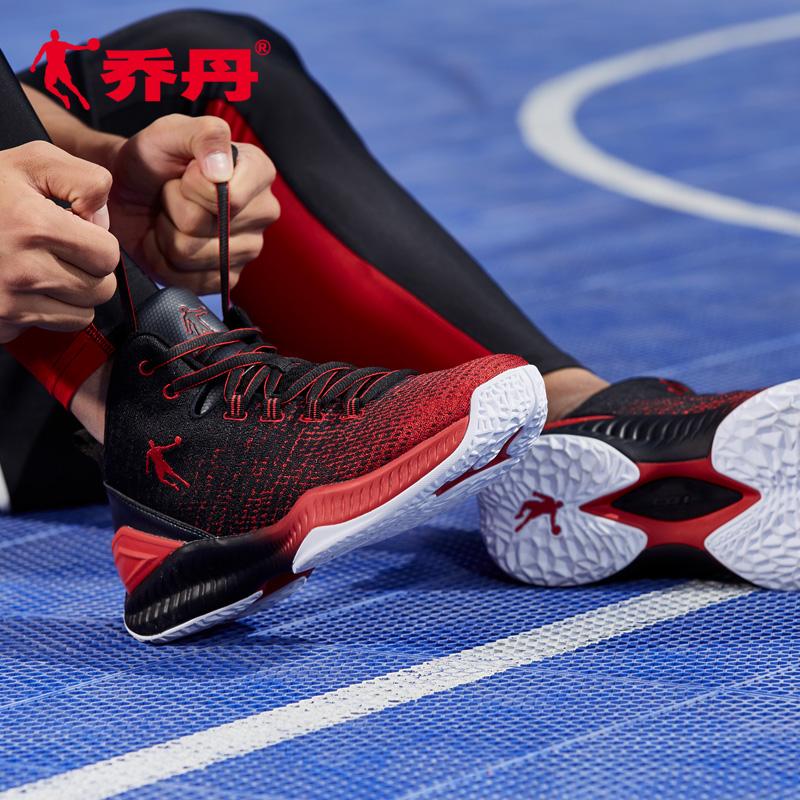 飞人乔丹篮球鞋男鞋高帮战靴2018夏季新款耐磨减震实战球鞋运动鞋