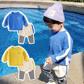 婴儿童装春秋套装男童小童宝宝卫衣服洋气一岁2020年春装新款幼儿图片