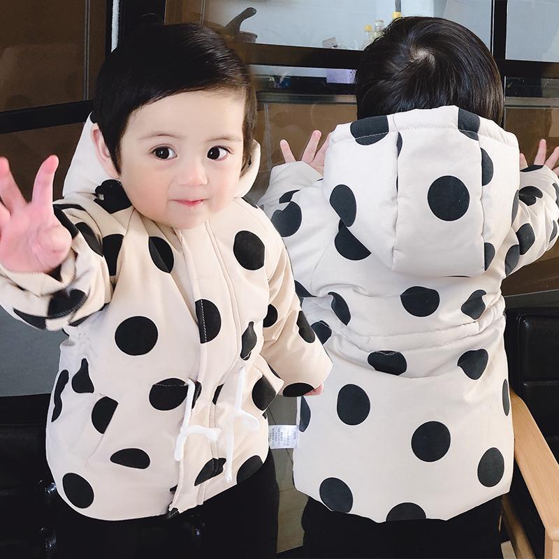 女童婴儿棉衣服春秋装0岁4 5棉服