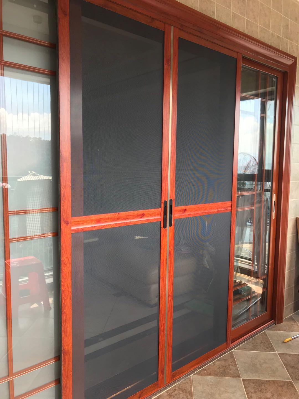 深圳防蚊窗纱门精钢网防蚊纱窗门同城免费安装