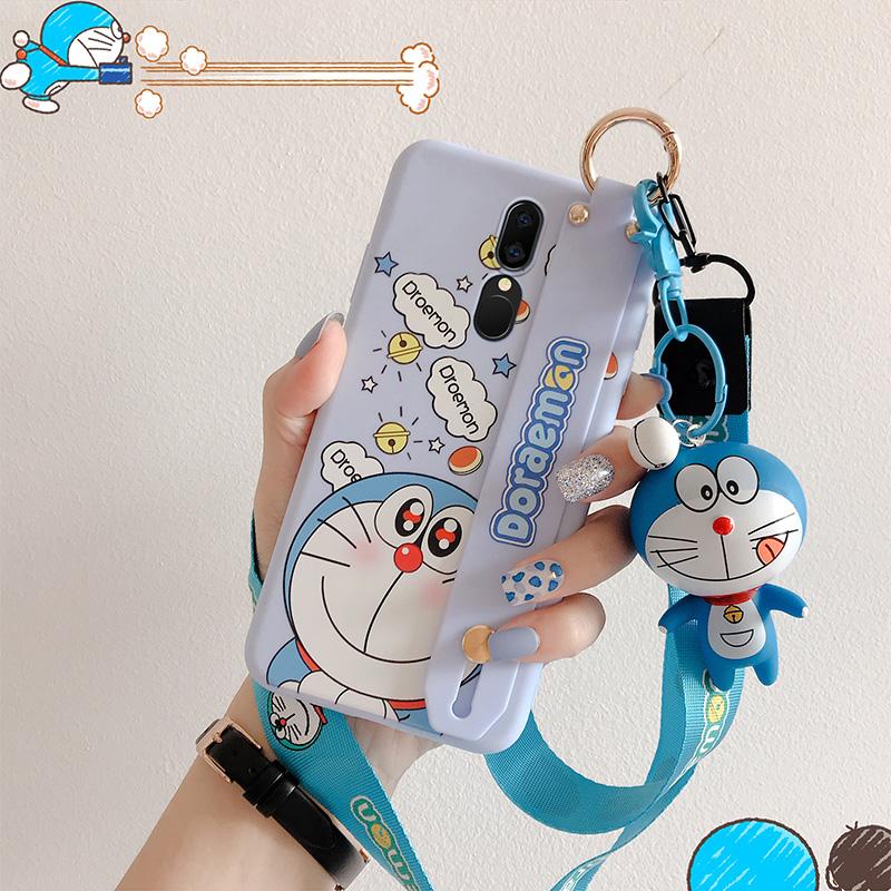 限2000张券oppoa9手机壳a9x男女新款oppoa7个性创意a7x可爱卡通叮当猫oppo