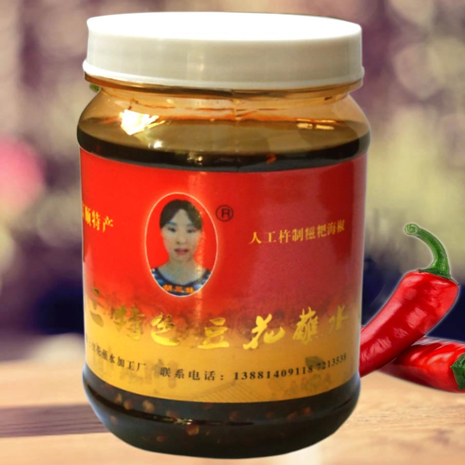 (促销6元邮费不限重)胡三豆花蘸水400克 、香、辣鲜、回味悠久