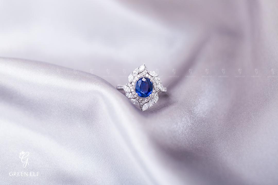绿妖轻奢珠宝宝石首饰耳钉戒指项链私人高端定制专用链接