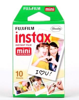 富士拍立得相纸10张白边 mini7s/mini25/mini90立拍得胶片包邮3寸