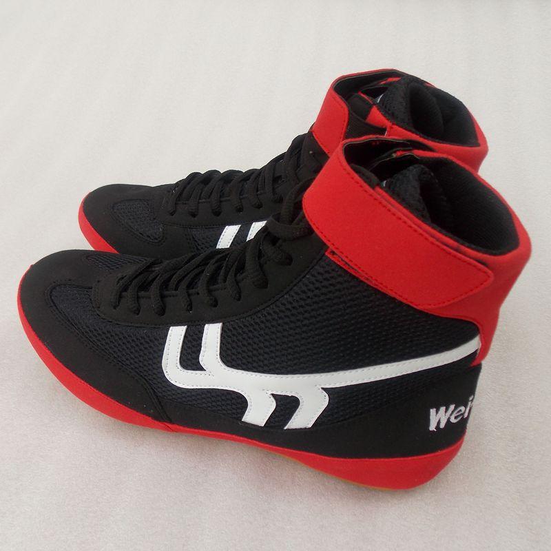 Новый престиж швейцарский подлинный бросать упорная борьба обувной обучение бокс саньшоу (свободный спарринг) обувной угол сила обувной движение фитнес обувь, сумки почта