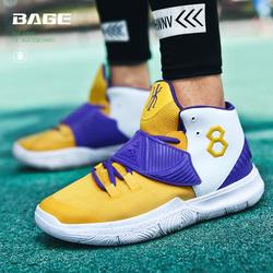 科比Kobe黑曼巴纪念款湖人紫金定制篮球鞋男欧文6代运动鞋球鞋靴