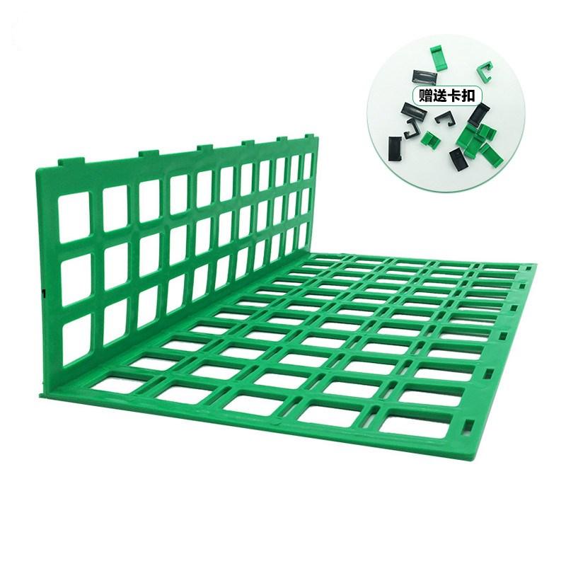 护栏隔离挡板生鲜果蔬架堆头围栏蔬菜水果隔板架超市档头10个PP
