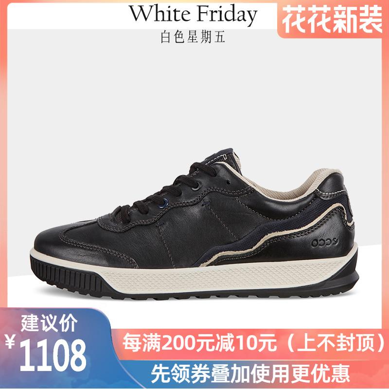 【现货】ECCO爱步2020春季新款运动鞋休闲男鞋透气户外鞋501814
