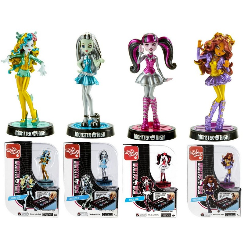 Monster high app activity monster high school doll iPad touch screen interactive game doll