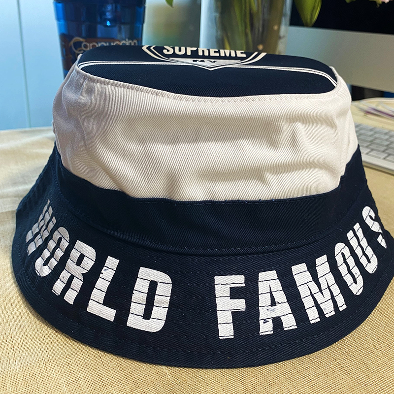 タオバオ仕入れ代行-ibuy99|帽子|渔夫帽朋克平顶帽黑色帽子韩版遮阳帽字母潮男潮女帽