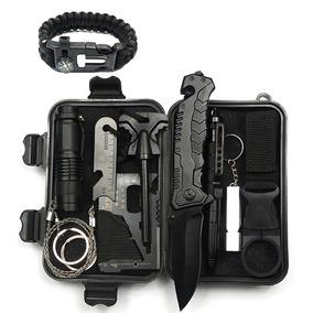 户外旅行多功能装备求生sos急救盒