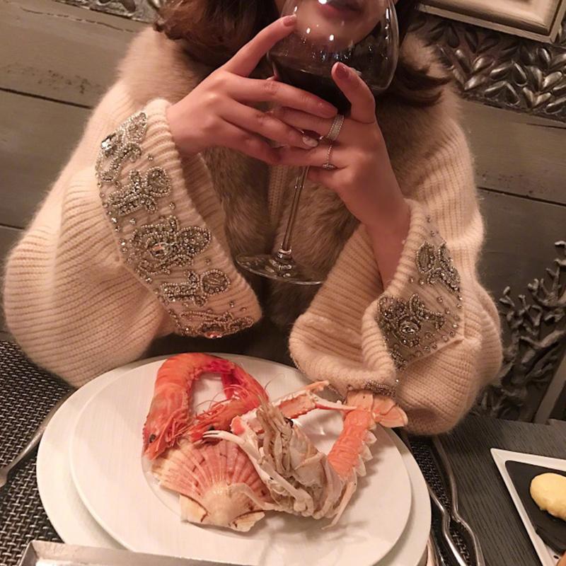 套头毛衣女冬季女装2018新款韩版长袖针织衫宽松显瘦打底上衣学生