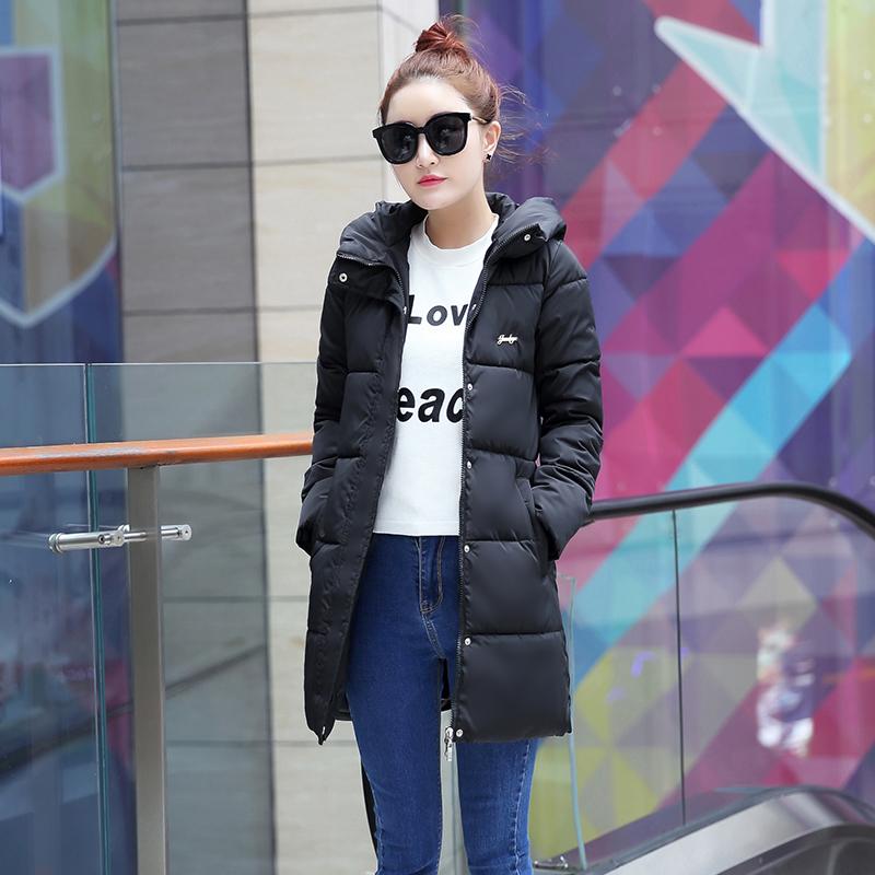 特加大码女装冬天胖mm羽绒棉衣中长款韩版显瘦外套 220斤胖人棉服