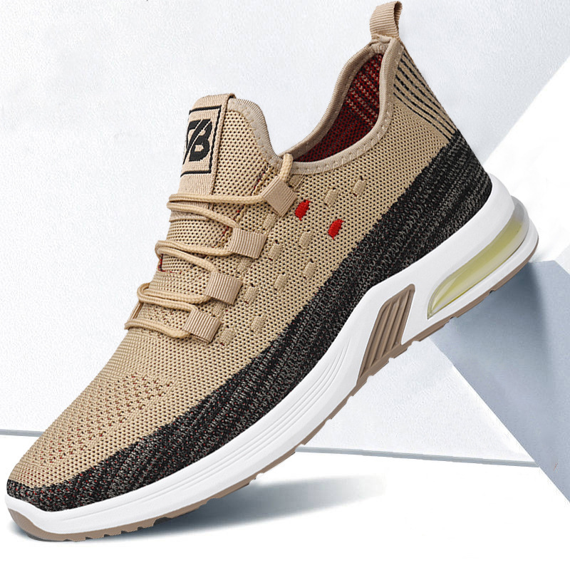 2021 fashion net red super fire mens shoes Korean Trend versatile sports and leisure shoes board shoes net running shoes
