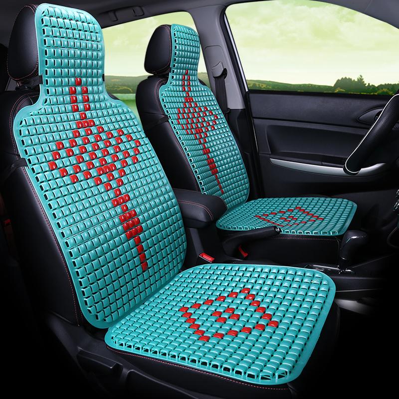 夏天 涼墊座椅墊汽車塑料坐墊麵包車大小客車貨車單片座墊