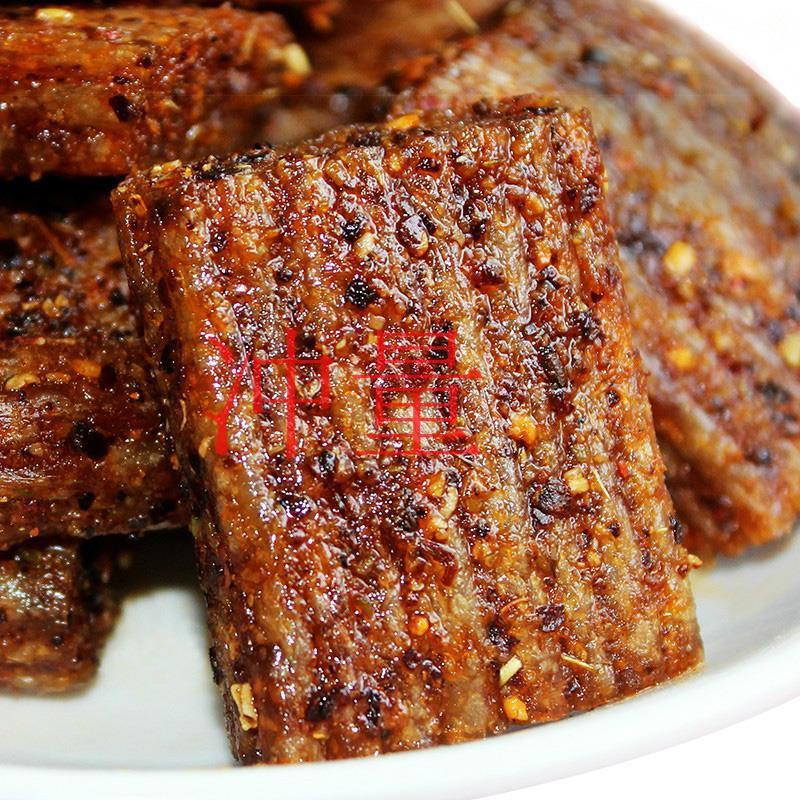 关家庄园大刀肉辣条素肉整箱网红麻辣零食儿时怀旧小吃辣么烧