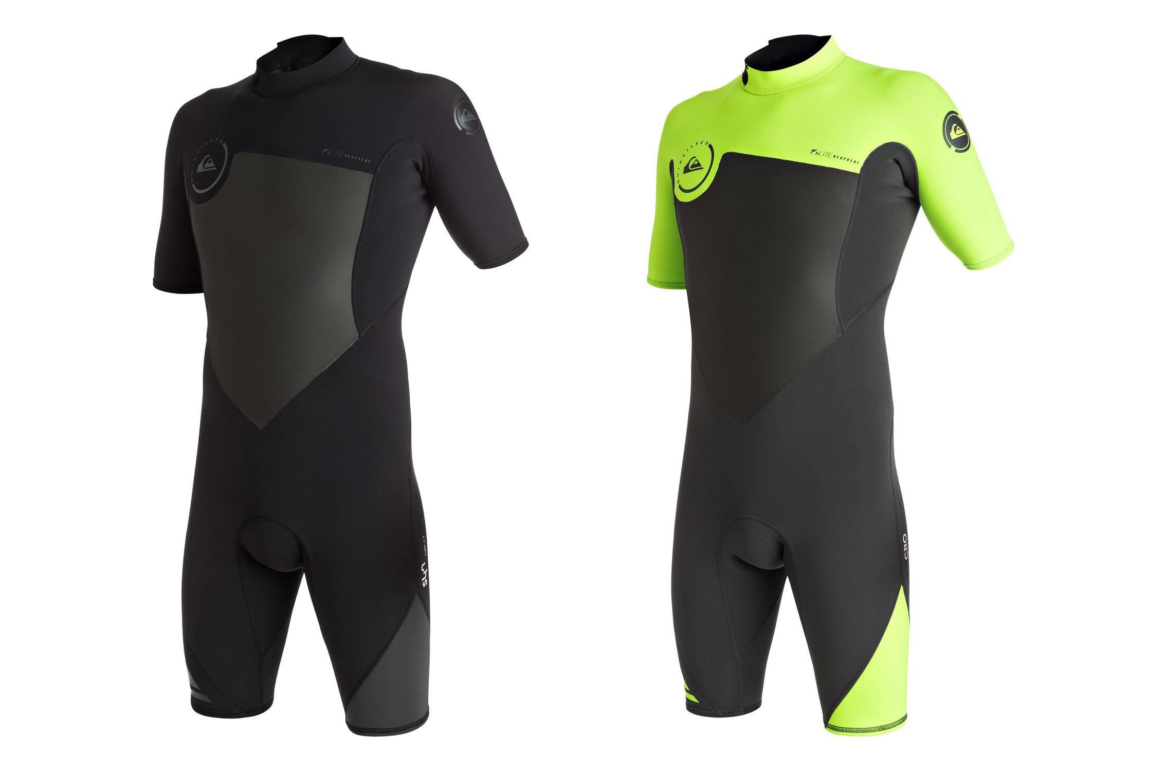 Прибой холодный одежда Quiksilver Syncro 2/2mm короткий рукав половина мокрый одежда Wetsuit