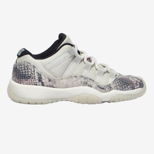 代购 Air Jordan Retro 11 Low LE AJ11 女鞋 CD6847-002 蛇皮限